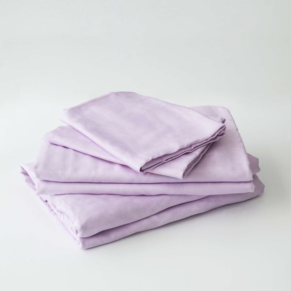 Organic Bamboo Sheet Set - Rose