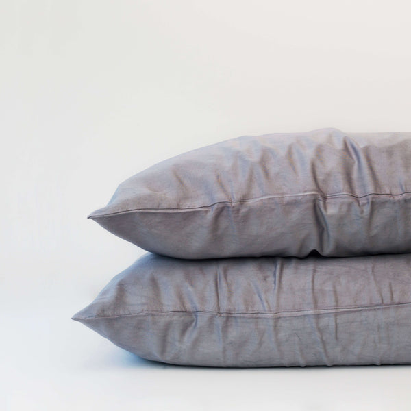 Organic Bamboo Pillowslip Set – Silver