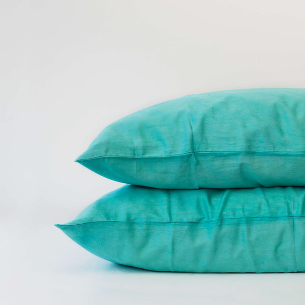 Organic Bamboo Pillowslip Set – Jade