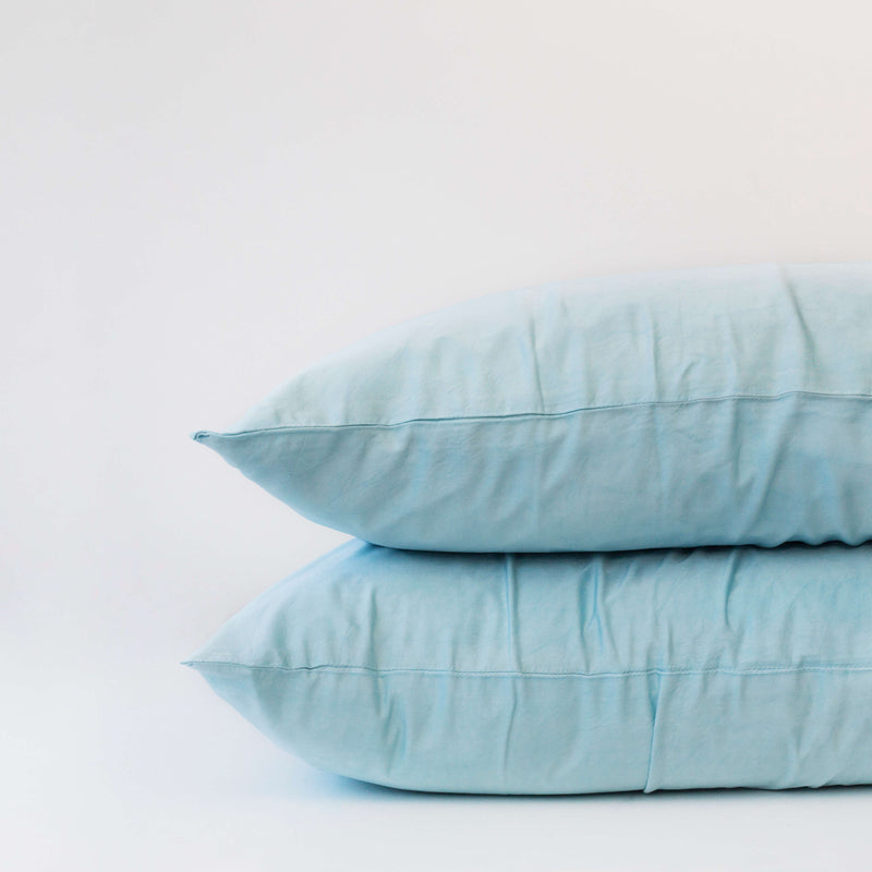 Organic Bamboo Pillowslip Set – Marine