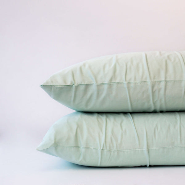 Organic Bamboo Pillowslip Set – Green Tea