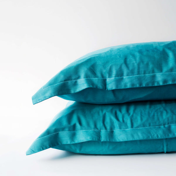 Organic Bamboo Pillowslip Set – Teal