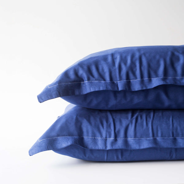 Organic Bamboo Pillowslip Set – Navy