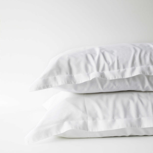 Organic Bamboo Pillowslip Set – White