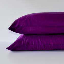 Organic Bamboo Pillowslip Set – Blackberry (Limited Edition)