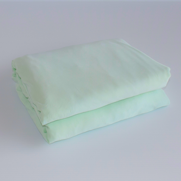 Set of 2 Organic Bamboo Fitted Sheets - Queen Size