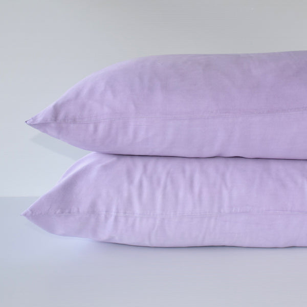 Organic Bamboo Pillowslip Set – Lavender (Limited Edition)