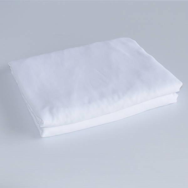 Organic Bamboo Fitted Sheet - White