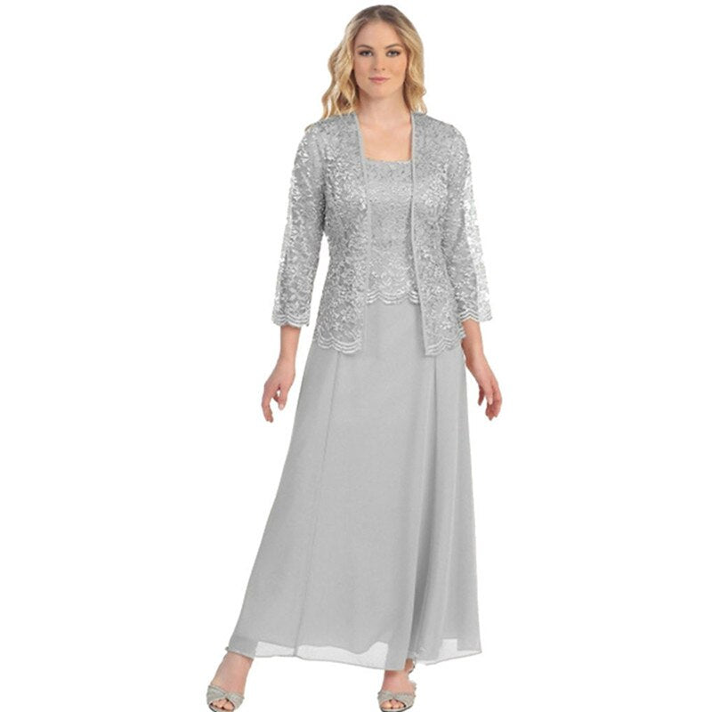 2 Piece Mother Of The Bride Dress Robe De Soiree