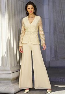 Evening Pants Suits for Womens
