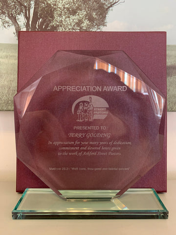Appreciation/Presentation Plaque