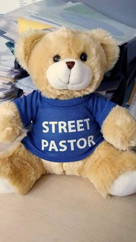 Street Pastor Teddy #New#