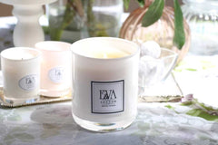 Luxury UK scented natural soy wax candle - Geen Applee and Cucumber