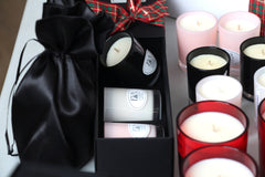 Christmas gift idea for woman, family and friends, scented luxury candle