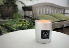 photo of luxury UK scented candle, gift for her or for him, unique design and quality