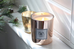 Christmas scented candle, gift idea for him or for her, present for woman, girlfriend, family and friends
