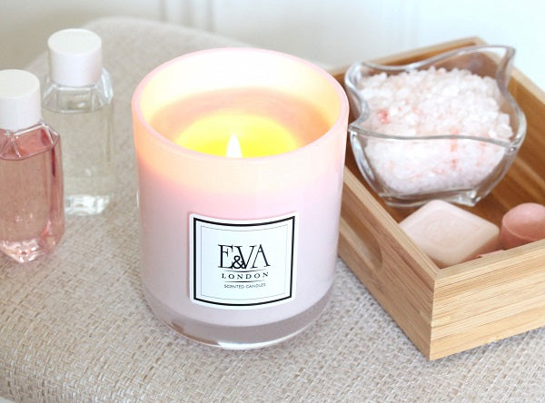 relaxation candle, natural wax, non toxic, UK candle