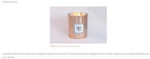 luxury natural candles made in UK, soy wax, paraffin free, non toxic for your home decor