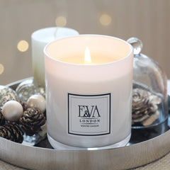 Luxury Christmas soy wax candle from UK
