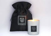 AEON, Eternity, luxury premium quality soy wax UK candle, paraffin-free, scented with fine fragrance oil, family and vegan friendly, non toxic, paraffin-free, glamourous home fragrance and beautiful home décor, gift idea for woman, girlfriend, clean burn, made in London candle company, UK