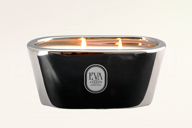 Luxury gift from London, scented candle made in UK, luxury home decor, non toxic scented with fragrance oil, long and clean burn, suitable for vegans, Eco friendly. Delicious blend of exotic fruits, caramel and honey, smells like Angel, glamorous gift for her. for any occasion, perfect present from London UK, luxury home treat, hand-poured product,