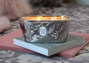 London gift. Candle soy UK, luxury home decor, non toxic scented with fragrance oil, long and clean burn, suitable for vegans, Eco friendly. Delicious blend of exotic fruits, caramel and honey, smells like Angel, glamorous gift for her. for any occasion, perfect present from London UK, luxury home treat, hand-poured product, made in UK