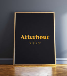 """Afterhour"" Art Print"