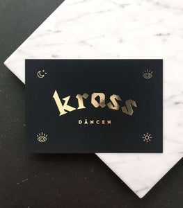 """Krass däncen"" Mini Art Print"
