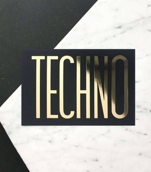 Techno Mini Art Prints