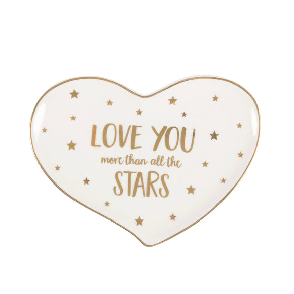 Schaaltje 'Love you more than all the stars'