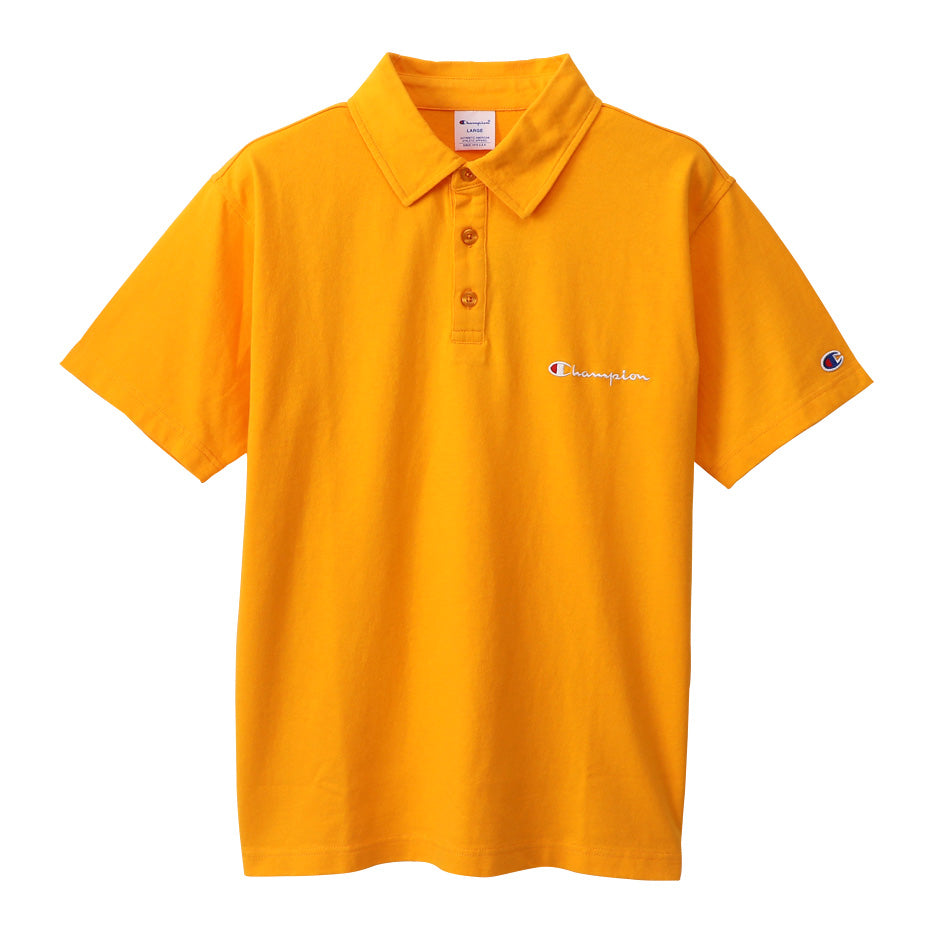 Champion Japan Basic Polo Yellow