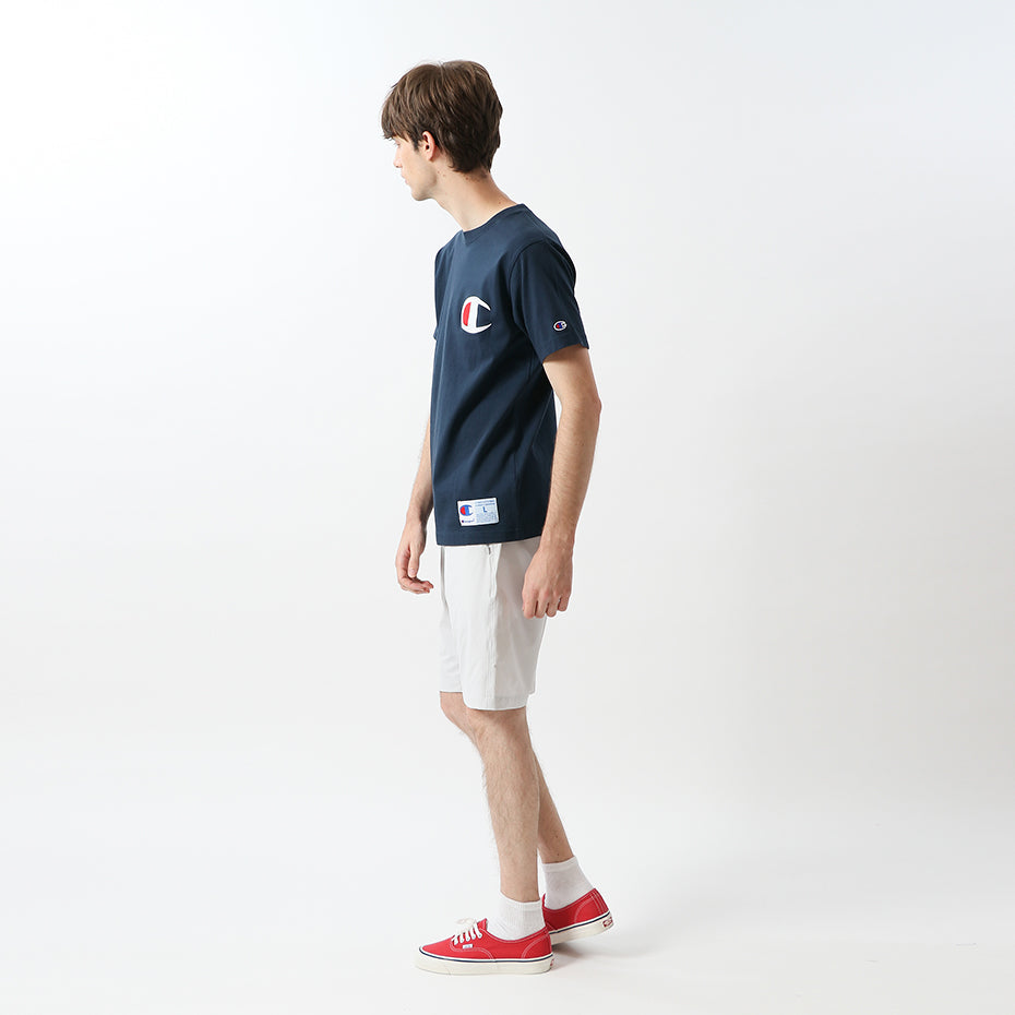 Champion Japan Big C Logo Tee Navy