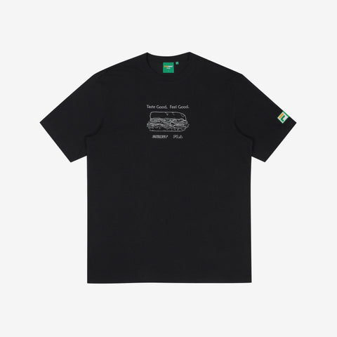 FILA Korea x SUBWAY Recipe Tee Black