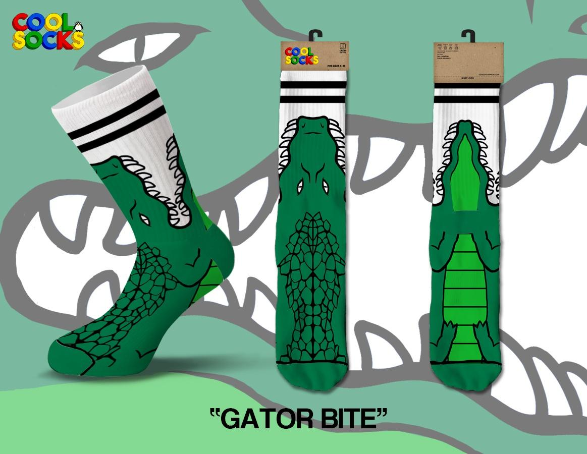 Cool Socks Gator Bite