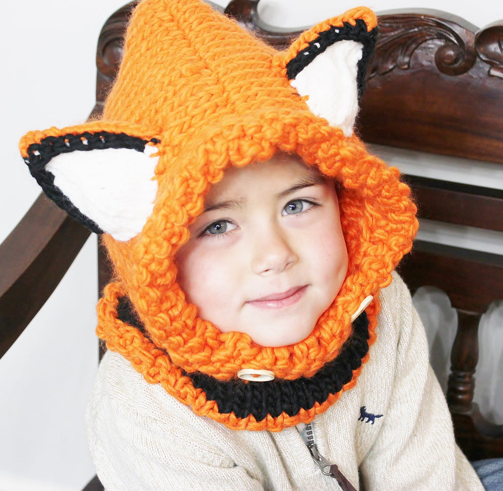 Children's Winter Fox Hat