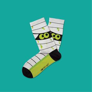 TWO LEFT FEET OH MUMMY KIDS HALLOWEEN SOCKS