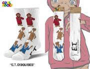 Cool Socks Men's ET Disguises