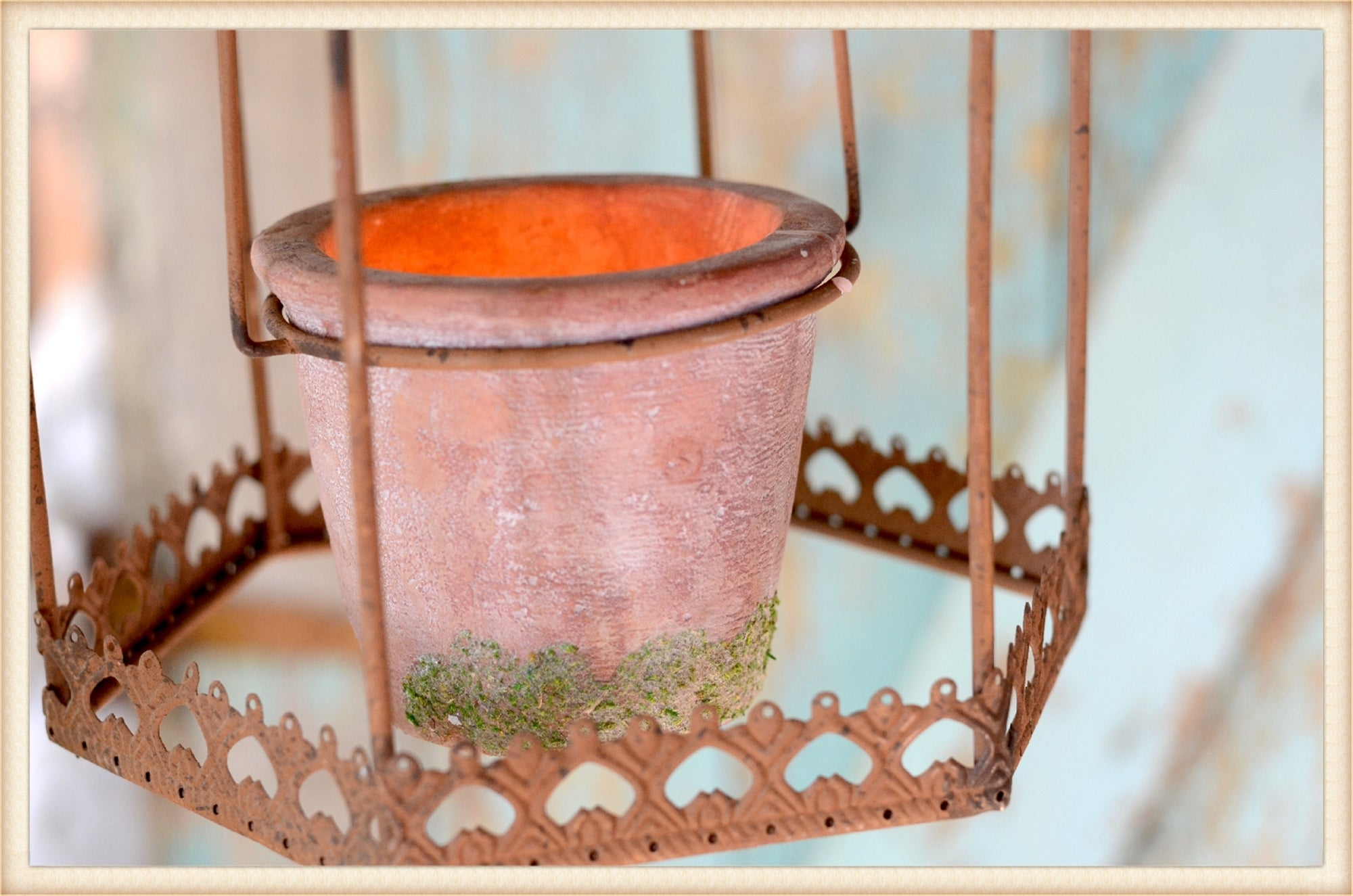 Hanging Octagon Planter
