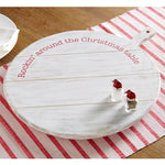 MUD PIE CHRISTMAS LAZY SUSAN