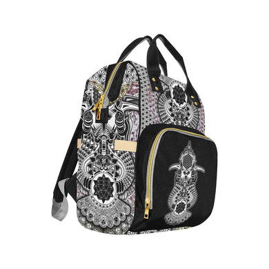 GROKKO Messenger And Change Art Accessory Backpack