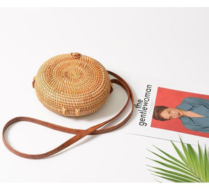 FH HERALD FASHION Official Store Shoulder Bags A Rattan Bag