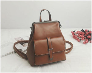 Jenary Backpacks Brown Manila Backpack