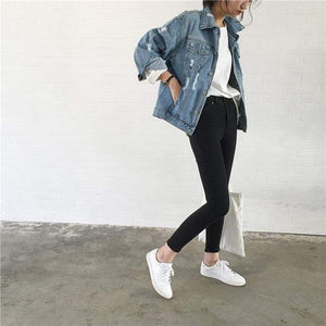 Jenary Jacket Simple Denim Jacket