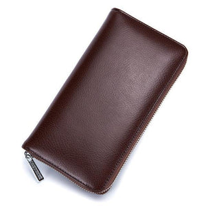 Jenary Wallet Brown Elegant Simple Design Wallet