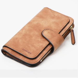 Jenary Wallet Brown 'Forever' Fashion Wallet