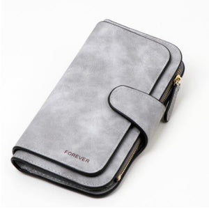Jenary Wallet Gray 'Forever' Fashion Wallet