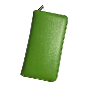 Jenary Wallet Green Elegant Simple Design Wallet