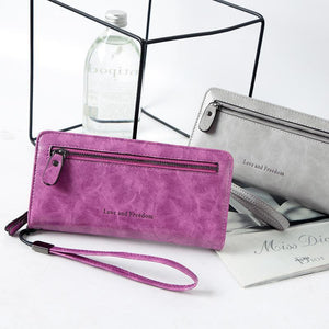 Jenary Wallet 'Love & Freedom' Fashion Wallet