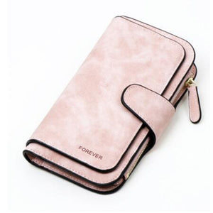 Jenary Wallet Pink 'Forever' Fashion Wallet