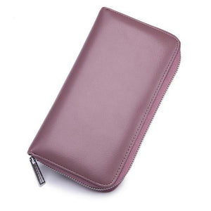 Jenary Wallet Purple pink Elegant Simple Design Wallet